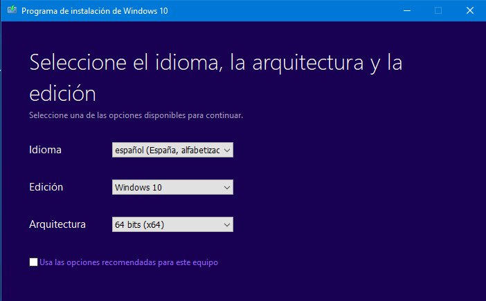 instalar windows 10 desde cero - crear usb windows 10 - formatear windows