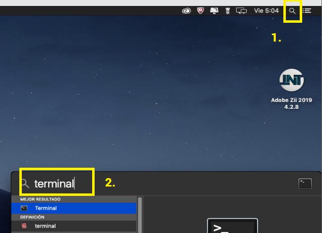 abrir terminal en mac - app dañada