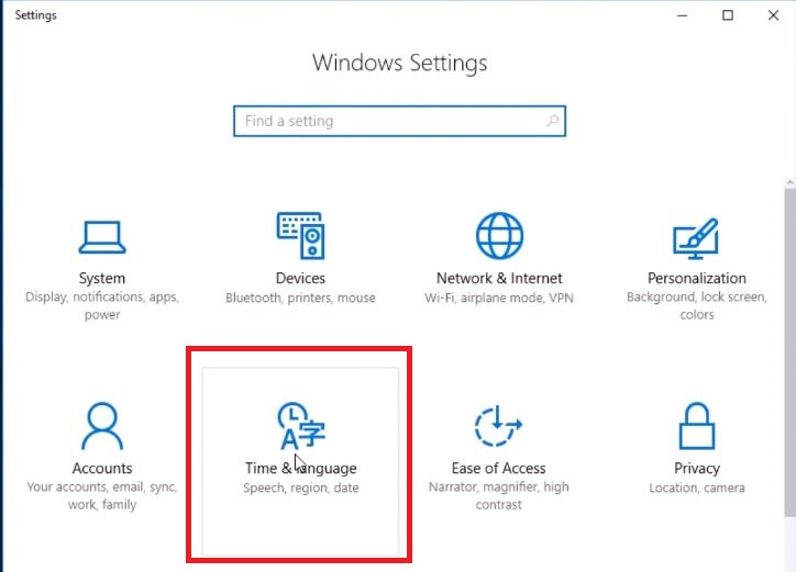 cambiar idioma windows 10 ltsc 2019