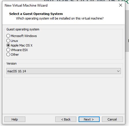 instalar mac en vmware