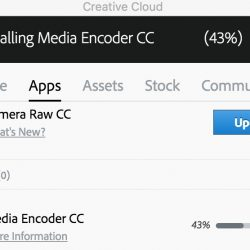 creative cloud 43%