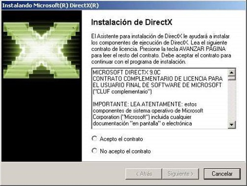 directx 9 end user runtime