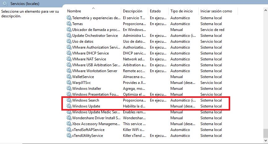solucion disco al 100 en windows