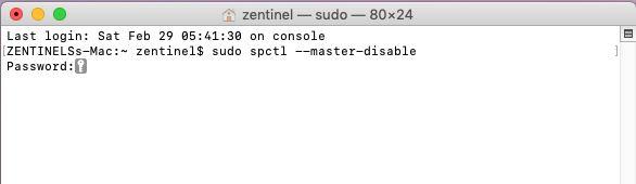 instalar apps de desarrollador no identificado en mac