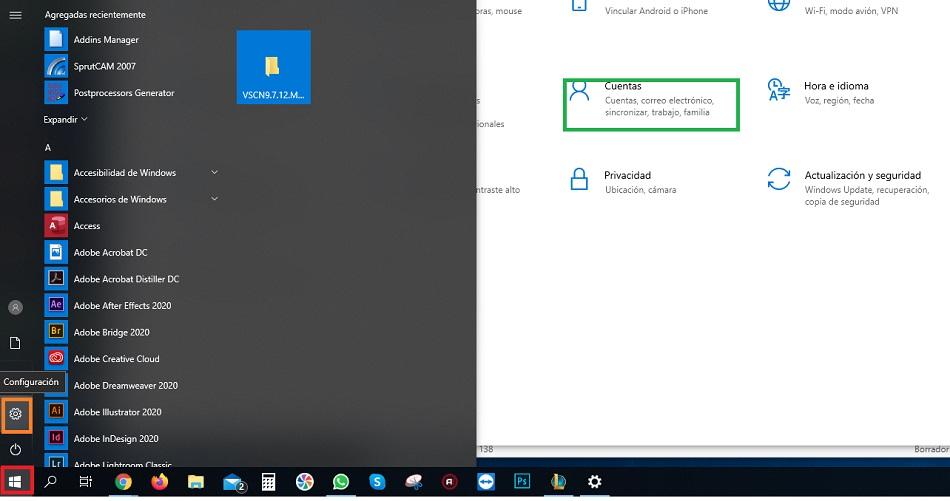 desvincular cuenta microsoft de windows