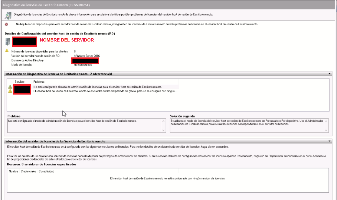 comprar licencia terminal server