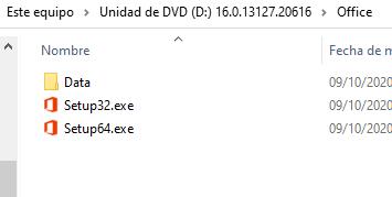 instalar office 2019 64 bits