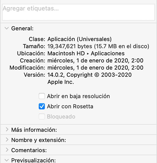 Rosetta, Photoshop 2021