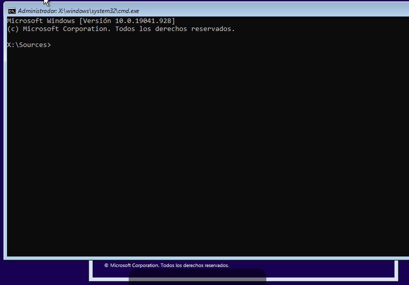 solucion error al instalar windows
